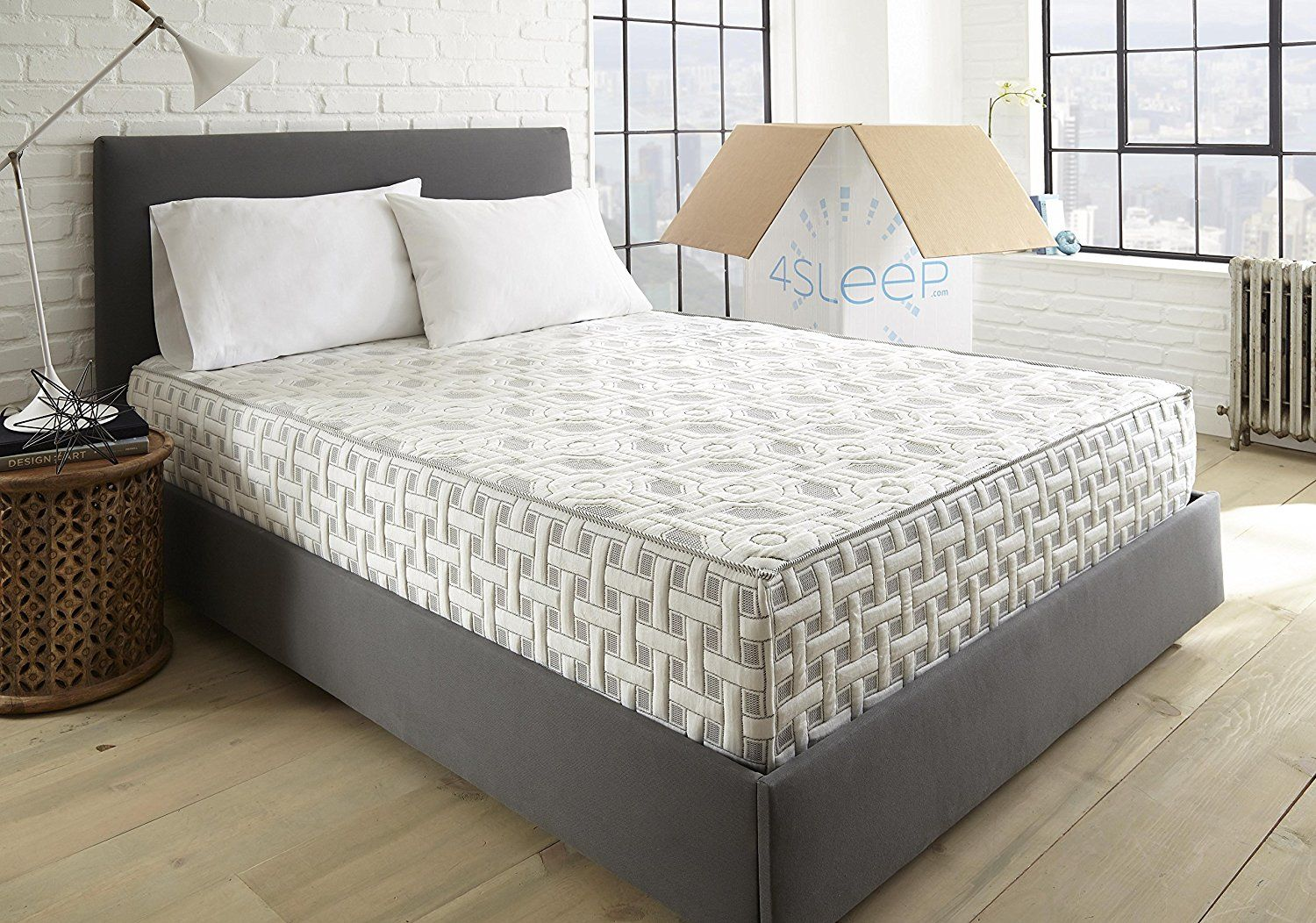4sleep mattress 100 usa made 10 year warranty twin