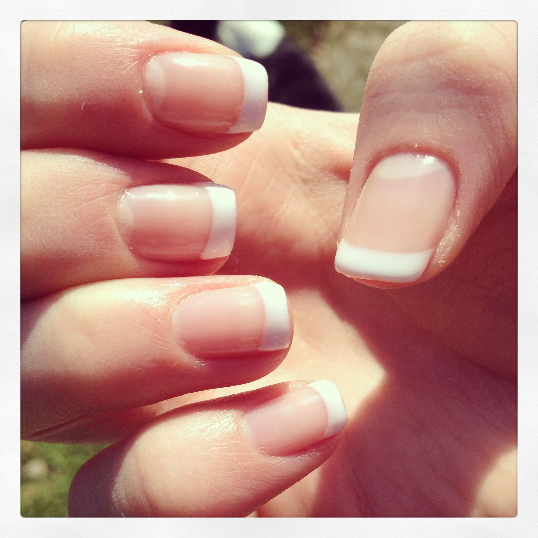 French gel manicure. Wedding nails (no fake nails). | nails ...