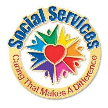 Social Workers Caring That Makes A Difference Lapel Pin & Presentation Card  Item # LP1674L