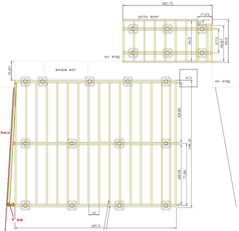 Pin By Angel Kreuzer On For The Home Building A Floating Deck Deck Plans Ground Level Deck Plans