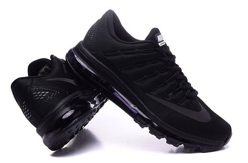 san francisco 35f5f ac867 Nike Air Max 2016 - 806771 009     UK 14 ,EUR 49.5, CM 33 US 15     NEW. Nike  Air Max 2016 Men Mesh All Black ...