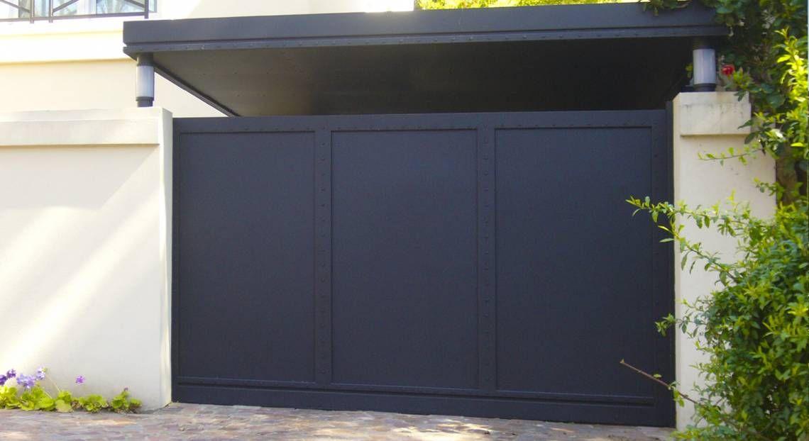Corredizos ihan portones new home proyect for Portones metalicos modernos