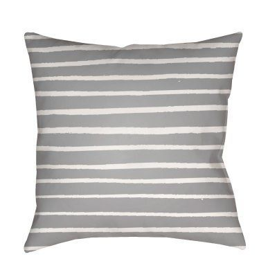 Surya Pin Striped Outdoor Pillow Pale Pink In 2019 Products