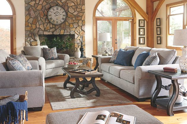 Fabulous Belcampo Jute Gray Sofa With Loveseat Half Chair And Ottoman Squirreltailoven Fun Painted Chair Ideas Images Squirreltailovenorg