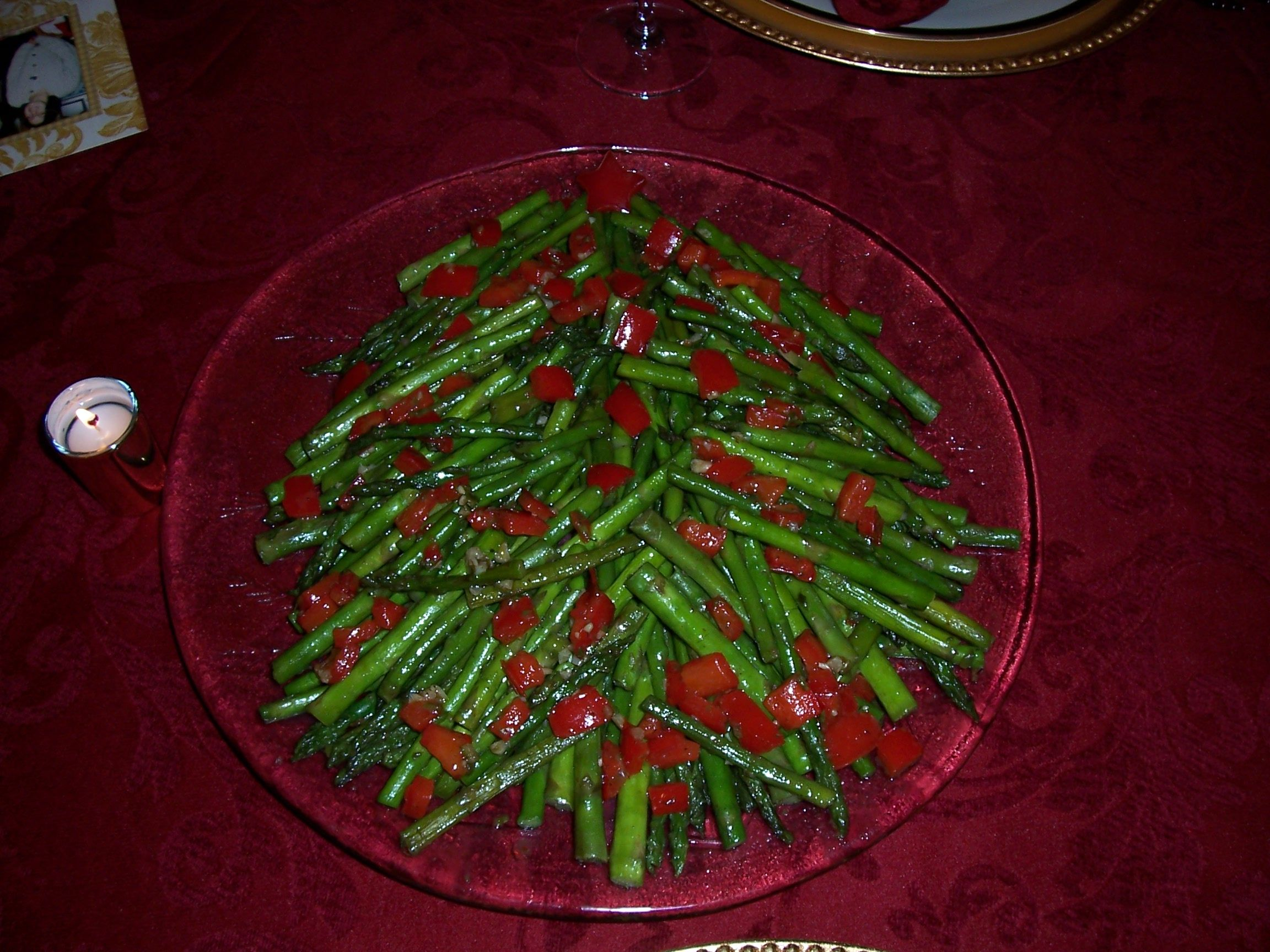 Asparagus Christmas Tree | All things Christmas! | Pinterest ...