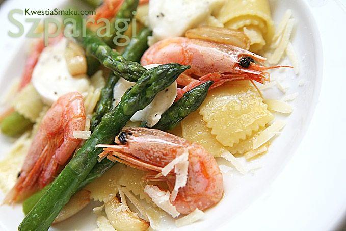 Makaron Z Krewetkami Makarony Z Krewetkami Przepisy Shrimp Pasta Pasta Dishes Food