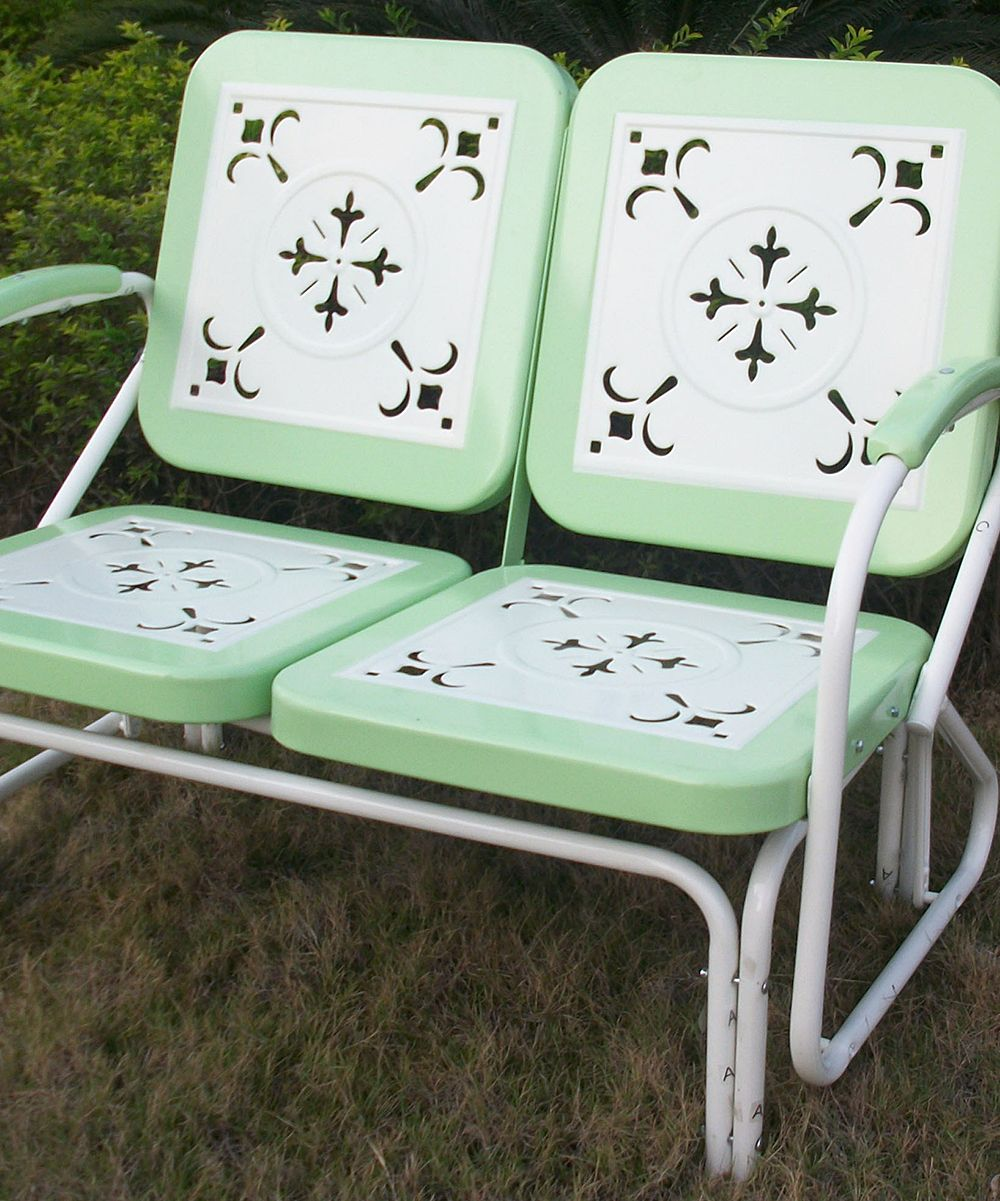 Vintage Lime Retro Glider Zulily With Images Retro
