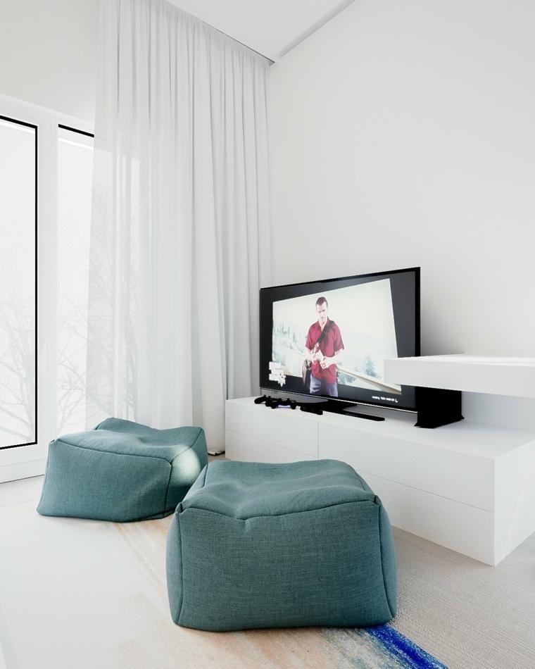Minimalistisches Haus mit hellen und funktionalen Räumen - wohnzimmer ideen hell