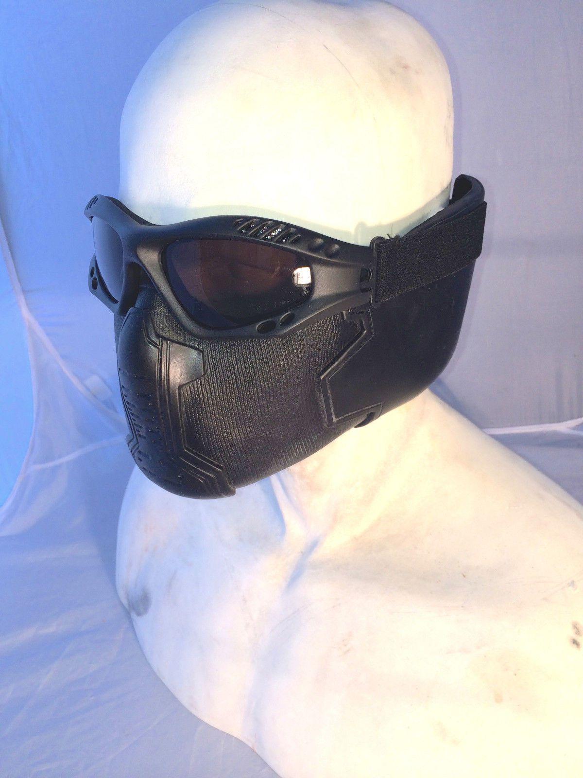 Captain America Winter Soldier Bucky Barnes Mask and Goggles | eBay