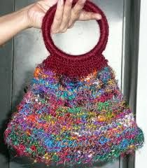 recycled sari yarn projects - Google Search