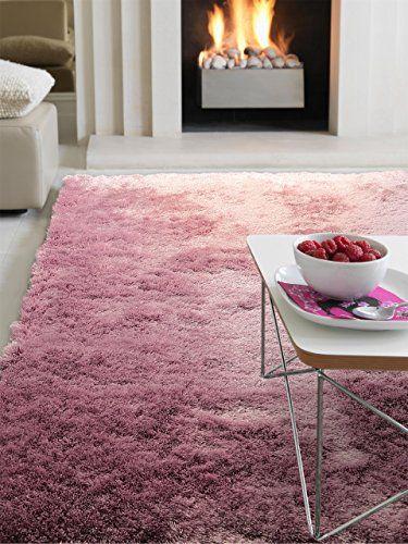 benuta Deep Pile High Pile Modern Shaggy rug Whisper Purple - wohnzimmer modern lila