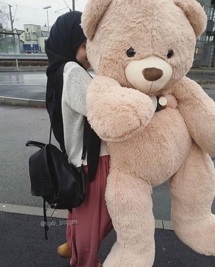 Pin By Esraa M D A On Deviche Hijab Fashion Muslim Girls Teddy Girl