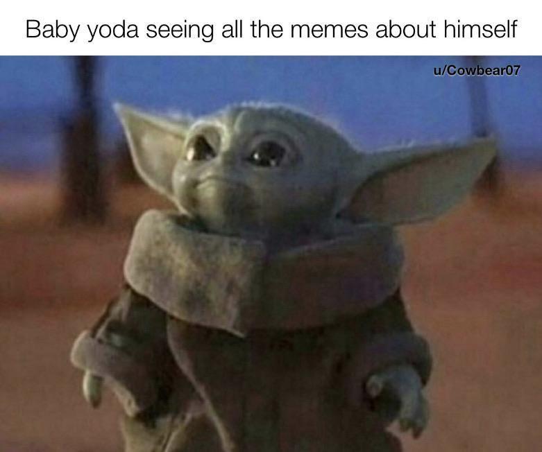 20 Baby Yoda Memes Will Drive You Crazy Funnod Yoda Star Wars Wallpaper Cute Wallpapers