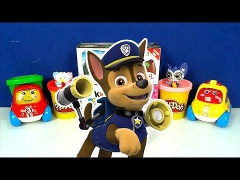 Paw patrol Surprise Eggs - Trò chơi bóc trứng socola Paw Patrol đồ chơi bất ngờ trong trứng