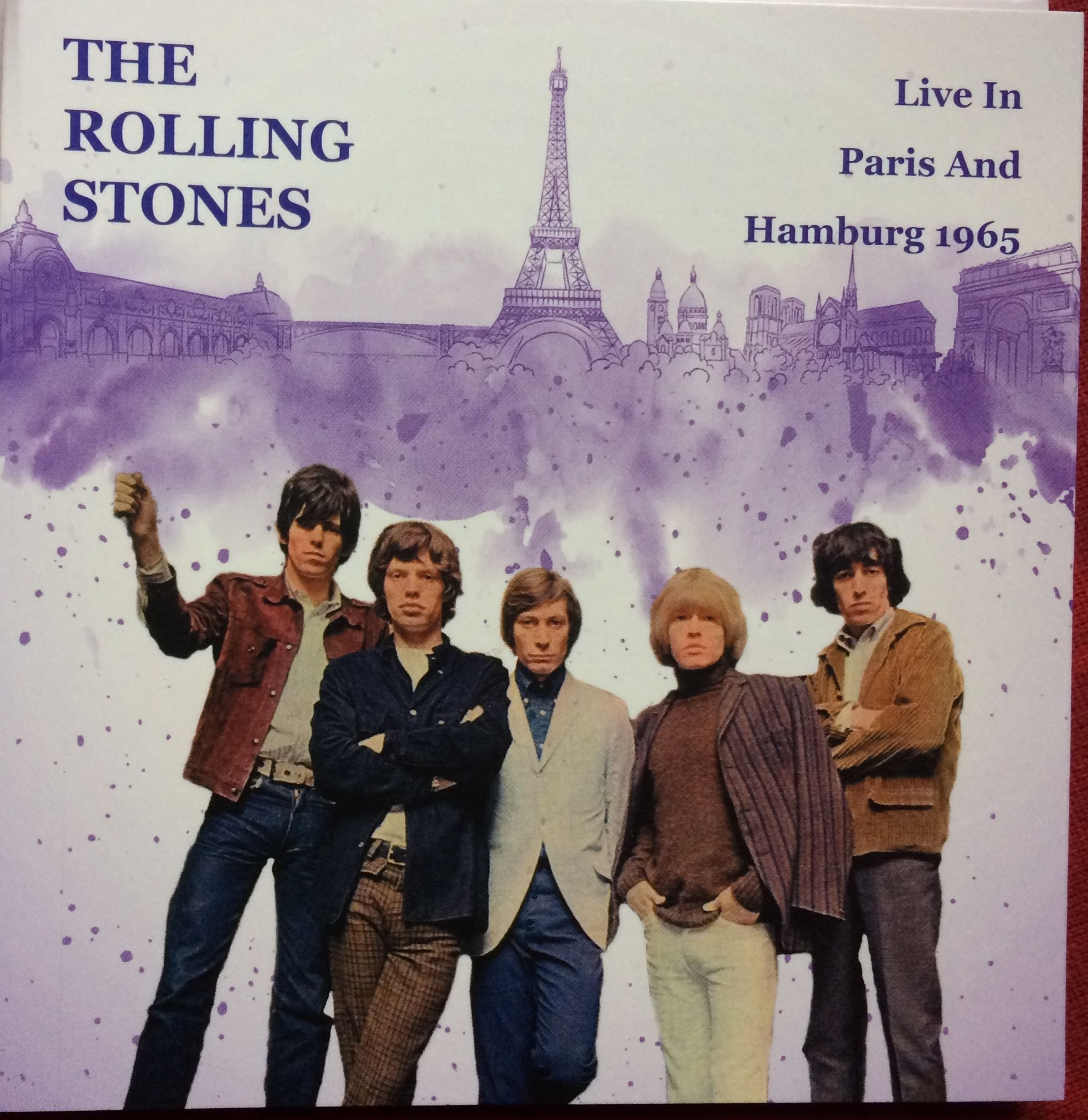 The Rolling Stones Live In Paris & Hamburg 1965 Cd
