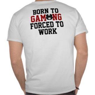 La camiseta que le daremos a nuestro primer empleado del mes ;)  Fuente: http://www.zazzle.es/gam+camisetas