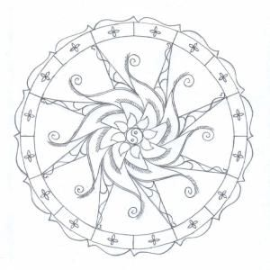 Free Fractal Coloring Pages Printable, Download Free Clip Art ... | 300x300