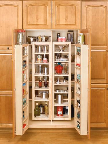 57 Wide Swing Out Pantry Kit At Menards Kitchen Storage Ideas Tall Kitchen Pantry Cabinet