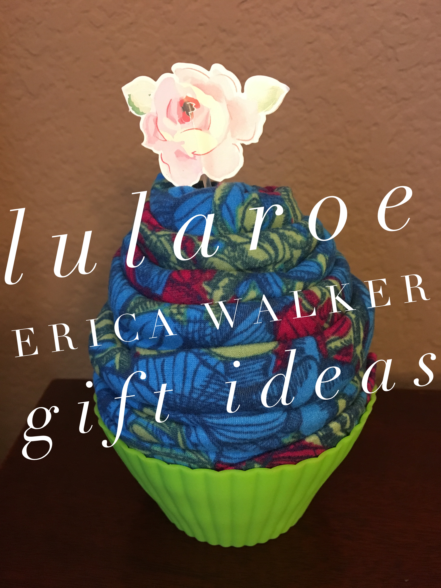 Cute Lularoe Legging Gift Ideas! Cupcakes!