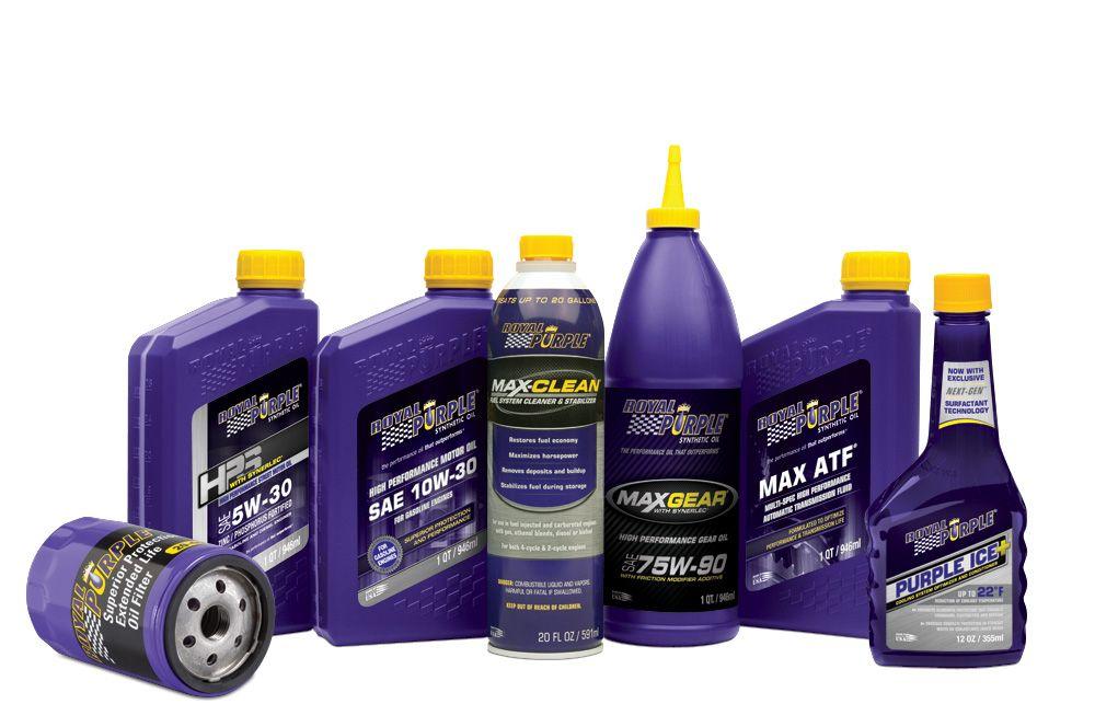 Royal Purple Automotive Products Royalpurple Automotive Synthetic Oil Purple