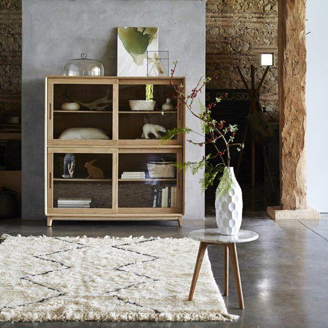 plateau en manguier 55 cm wood bout de canap tapis style berbere et tapis. Black Bedroom Furniture Sets. Home Design Ideas