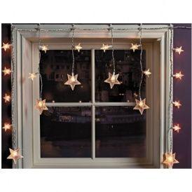 Star Window Christmas Decoration Lights 3 49 Argos Christmas Window Decorations Decorating With Christmas Lights Christmas Light Installation
