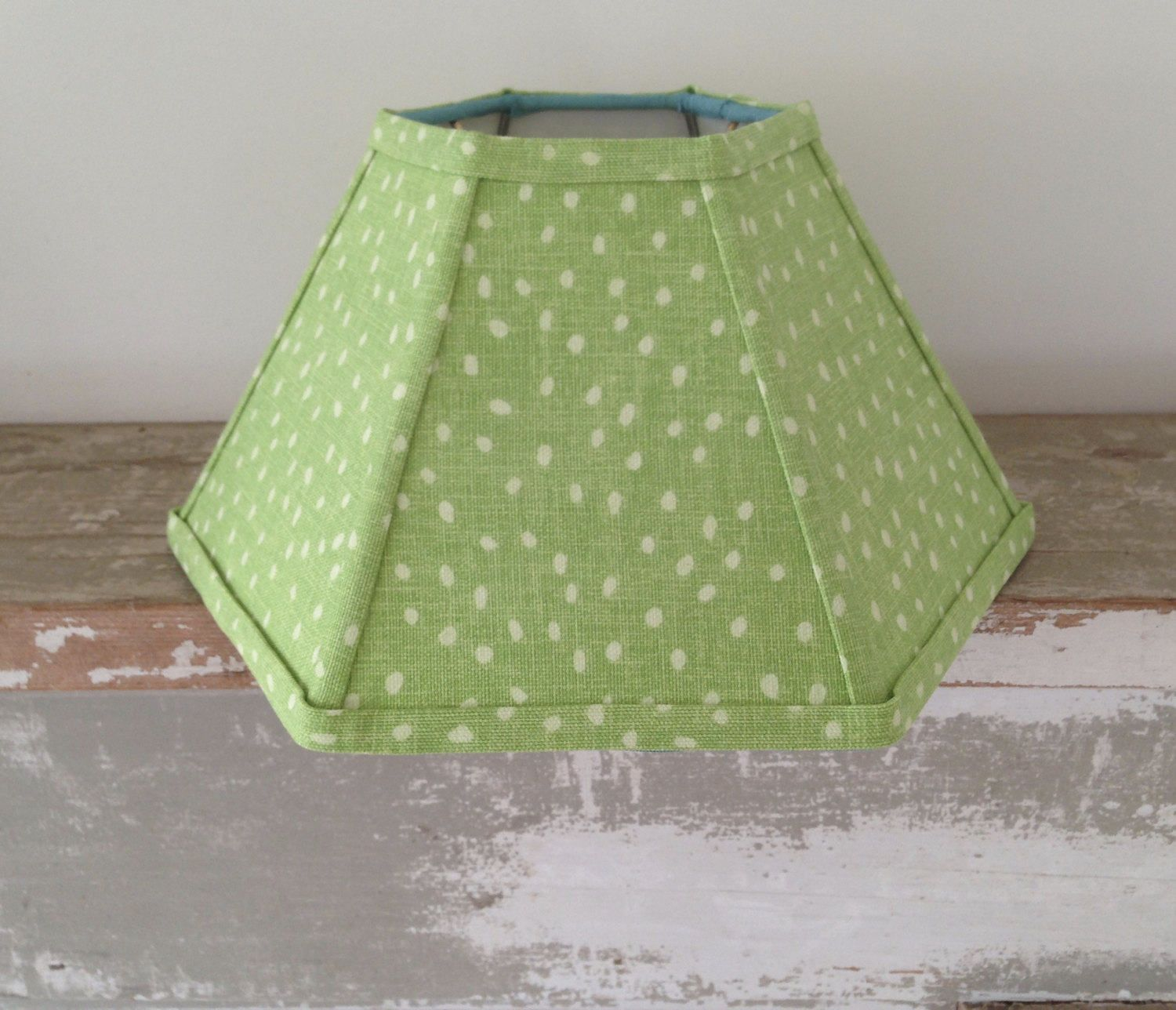 Lime linen hurricane lamp shade funky dot lampshade 5t x 12b x 7 lime linen hurricane lamp shade funky dot lampshade 5t x 12b x 7 high fits over glass chimney hard to find susan sargent fabric aloadofball Images