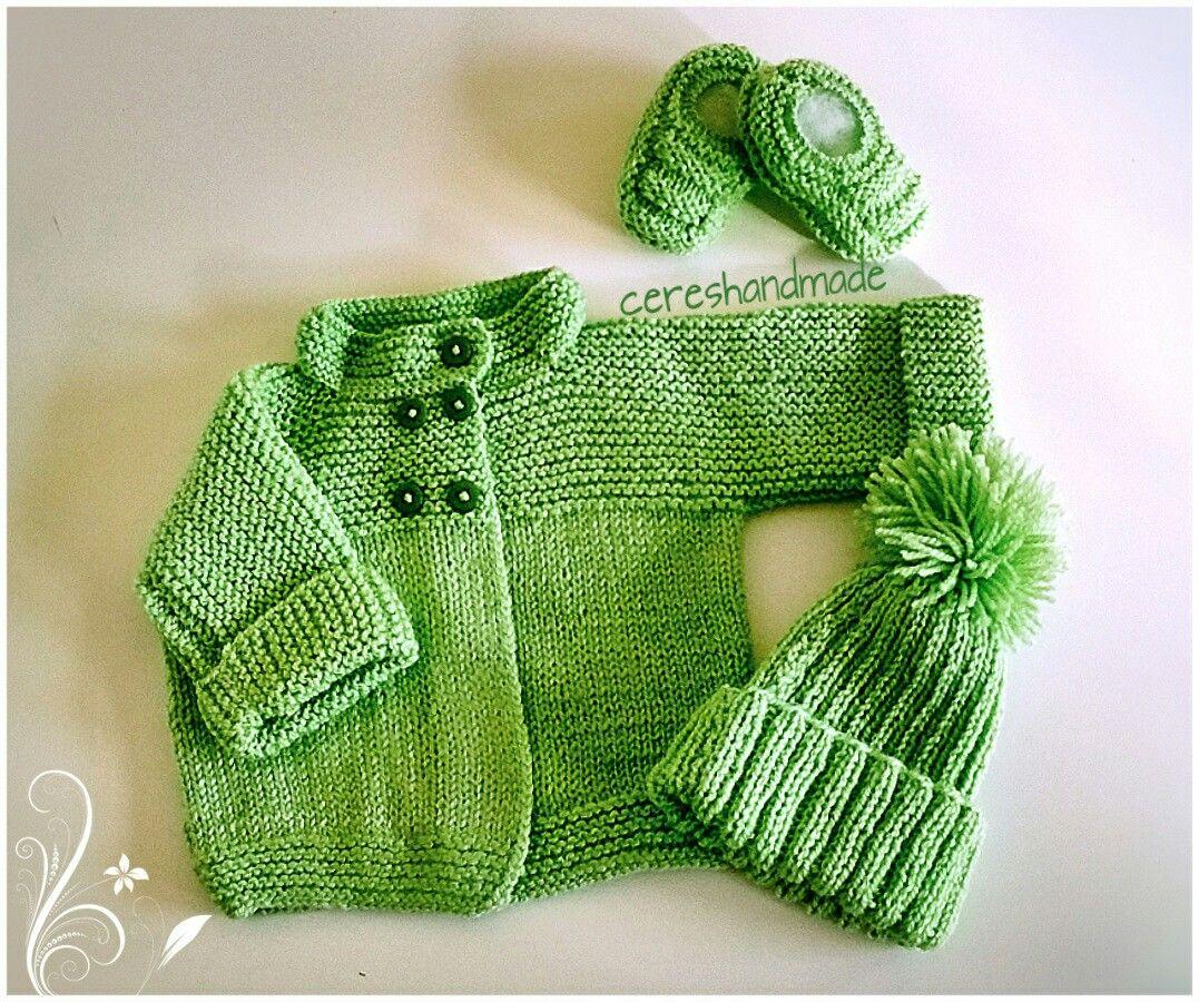 Conjunto para bebês  www.facebook.com/cereshandmade