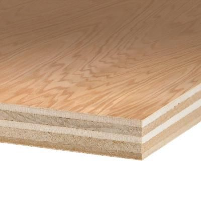 Columbia Forest Products 3/4 in. x 4 ft. x 8 ft. PureBond Red Oak ...