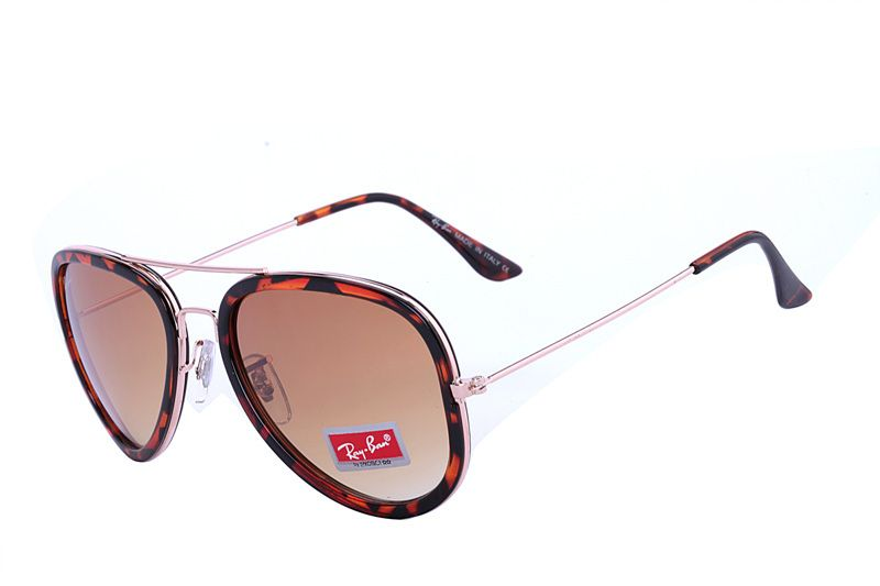 Ray Ban Aviator Road Spirit RB2803 Brown Leopard Sunglasses