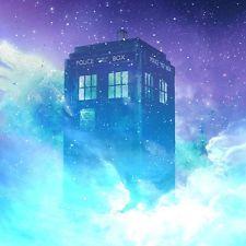 Edición Limitada De Aluminio impreso Poster Doctor Who Tardis Nuevo Arte