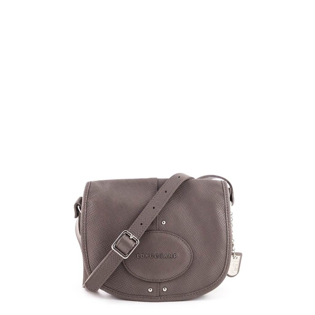 04e95f1bc295 Longchamp Clay Leather Small Quadri Messenger Crossbody Bag - LOVE that BAG  - Preowned Authentic Designer