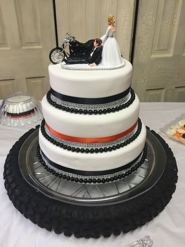 motorcycle wedding cakes harley davidson wedding cake i made for my and dads 17612