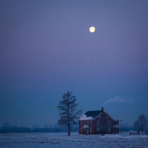house moon by Jen MacNeill on Flickr.house moon