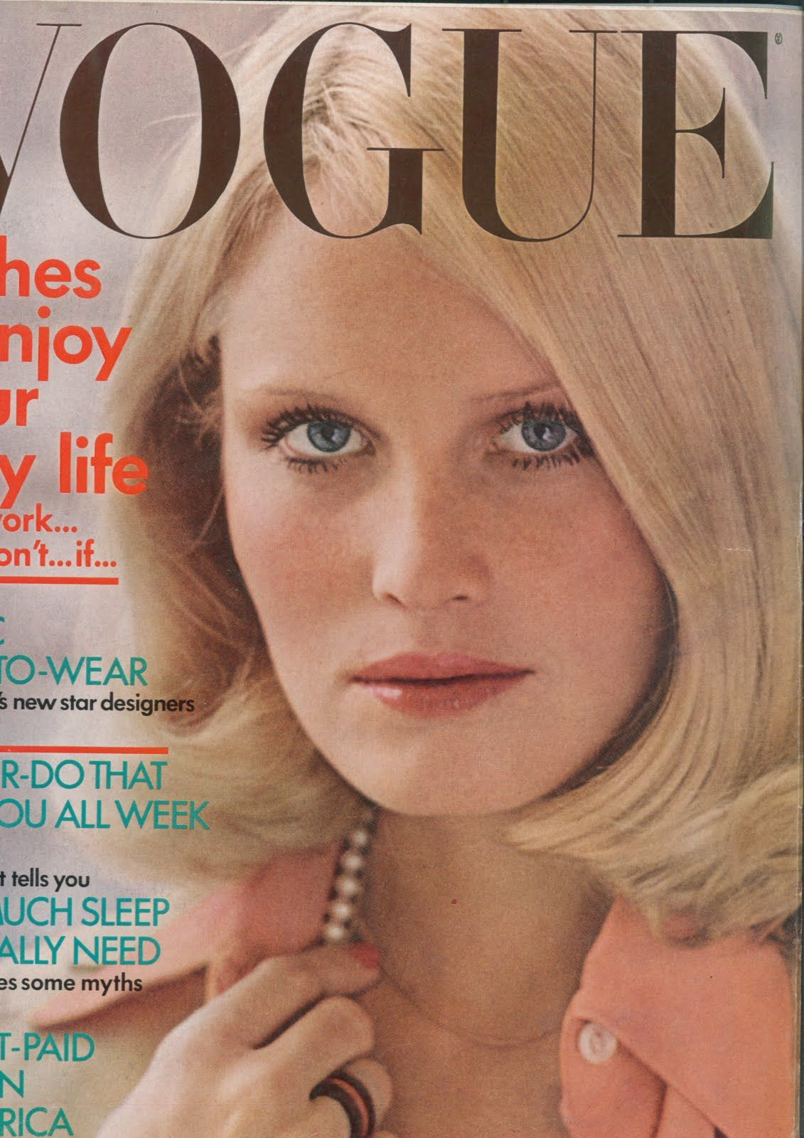 gunilla lindblad by gianni penati for vogue 1971 vogue clothes to enjoy your busy life cover model gunilla lindblad photographed by helmut newton diane sawyer by stephen paley pola viviane