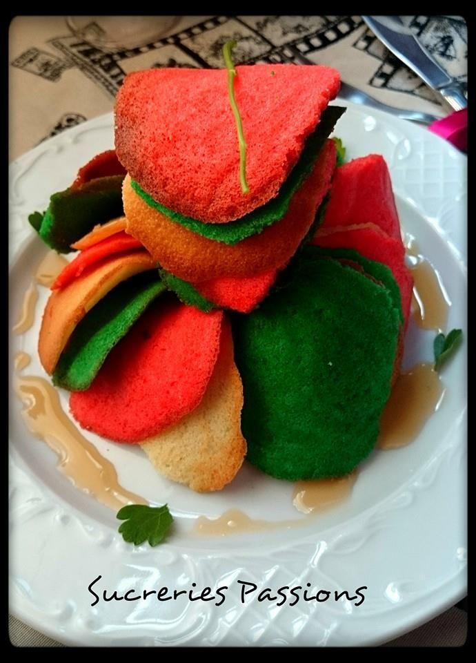 Sweet Ratatouille. Mi versión dulce del Ratatouille con tejas (Puedes encontrar la receta en mi blog: www.sucreriespassions.blogspot.com.es)