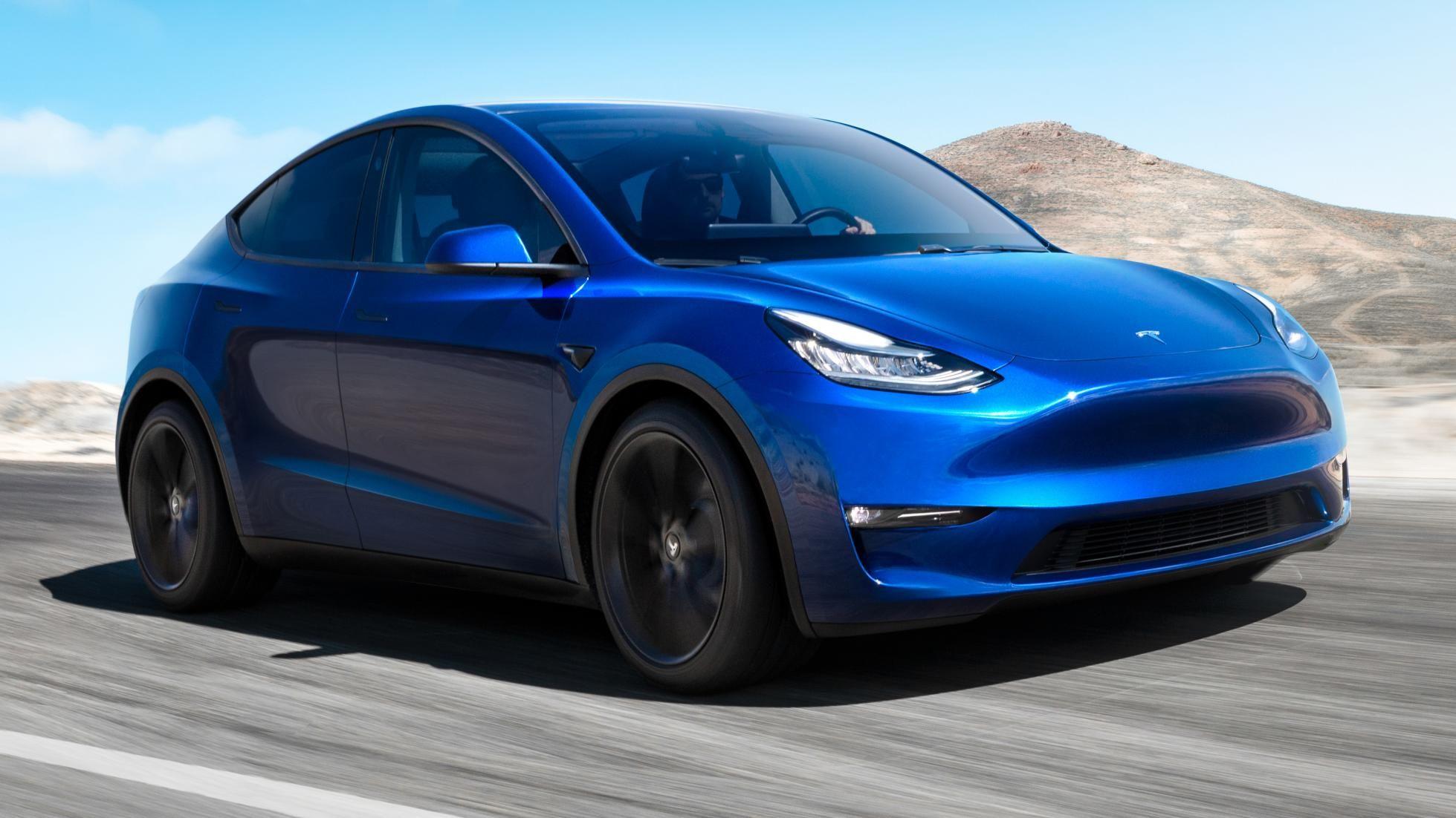 This Is The Tesla Model Y Met Afbeeldingen Tesla Modelauto Model
