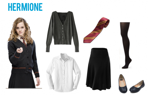 Which Harry Potter Character Should You Dress Up As This Halloween Harry Potter Kleidung Hermine Kostum Und Hermine Granger Outfits