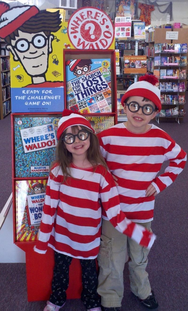 Waldo Kids- Find Waldo in Brenham 2012 Book Nook party page  #findwaldolocal