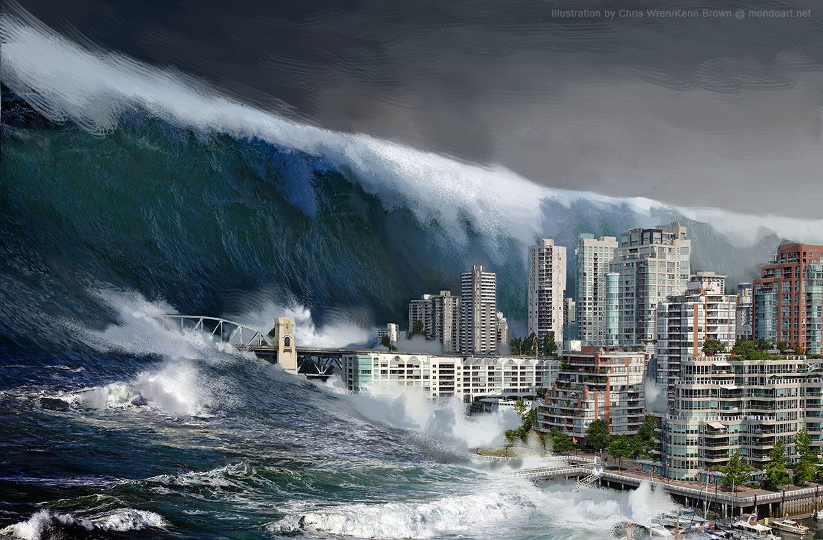 Surviving A Natural Disaster Earthquake And Tsunami Tsunami Natural Disasters
