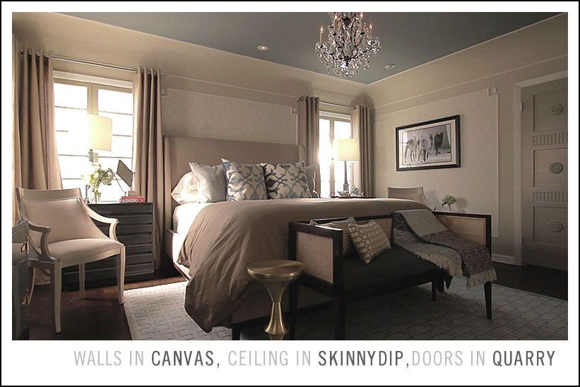 Quarry  Jeff Lewis Color Love This Bedroom Neutral Wall Color Unique Jeff Lewis Bedroom Designs Inspiration Design