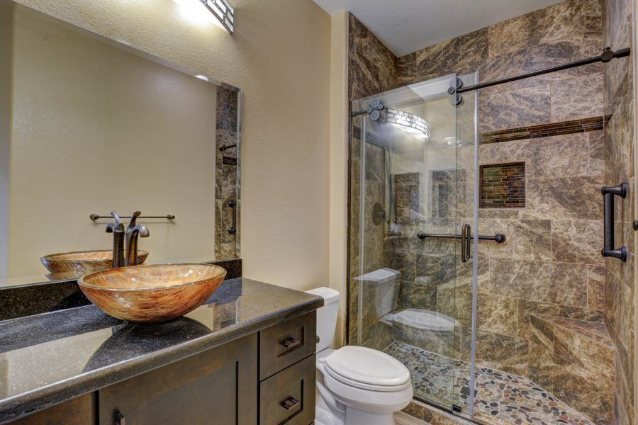 Traditional Bathroom In Canyonville Las Vegas Nevada