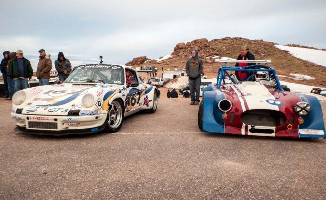 Broadmoor Pikes Peak International Hill Climb Racing Race Cars Hot Rods