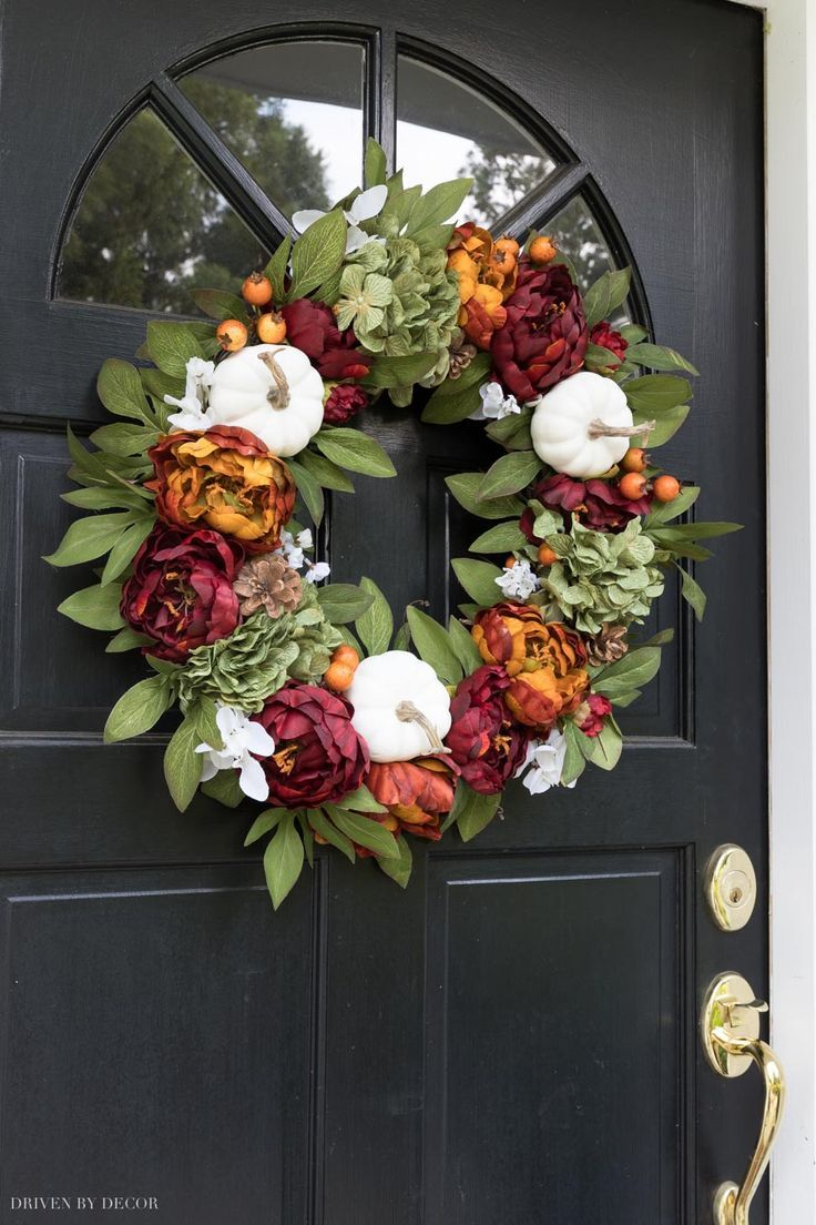 Favorite Fall Wreaths To Get Your Front Door Fall Ready!
