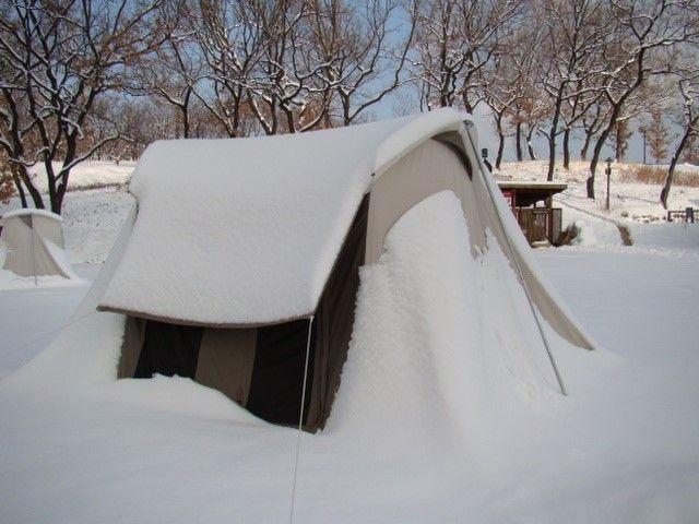 South Korea winters - the ultimate test for Kodiak Canvas Flex Bow Canvas Tents & South Korea winters - the ultimate test for Kodiak Canvas Flex Bow ...
