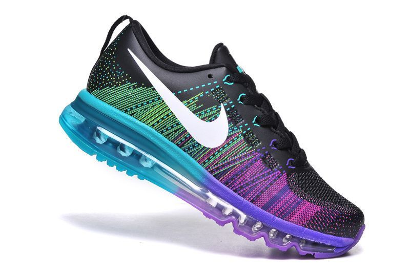 hot sale online 8b09e 80c1e ... cheapest nike flyknit air max 2014 womens black purple airmax2015231  86.00 air max 2015 58d86 7617c