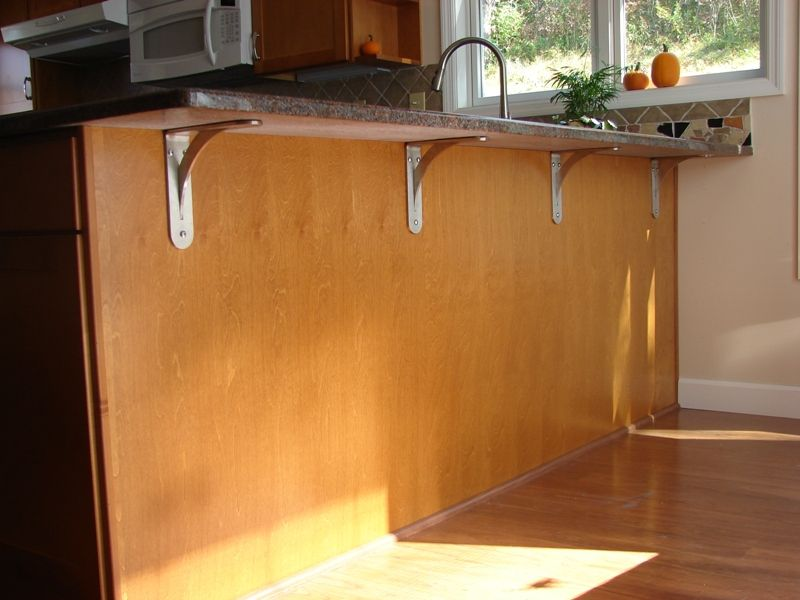 Granite Countertop Brackets Before Installing A New Or