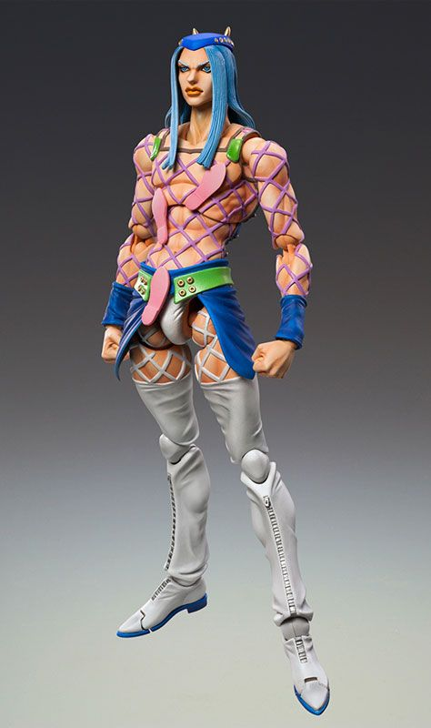 Jojo Super Action Statue Narciso Anasui Hirohiko Araki Spec