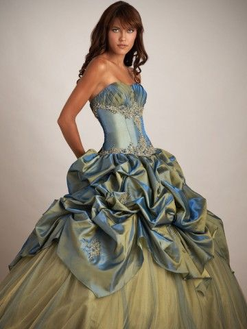 2013 Style Ball-Gown Sweetheart Lace Sleeveless Floor-length Taffeta Prom Dress / Evening Dress $144.99 #MyeSoul