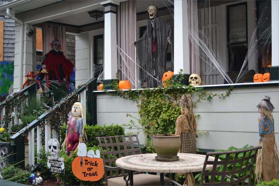 Décoration Halloween  16 inspirations en images pour décorer l - halloween house decorating ideas